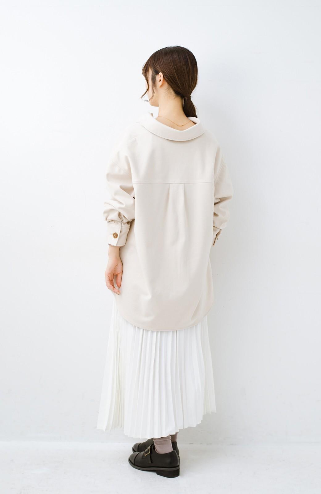 haco! 気軽に羽織って今っぽオシャレに見える ゆるさがかわいいCPOジャケット <アイボリー>の商品写真16