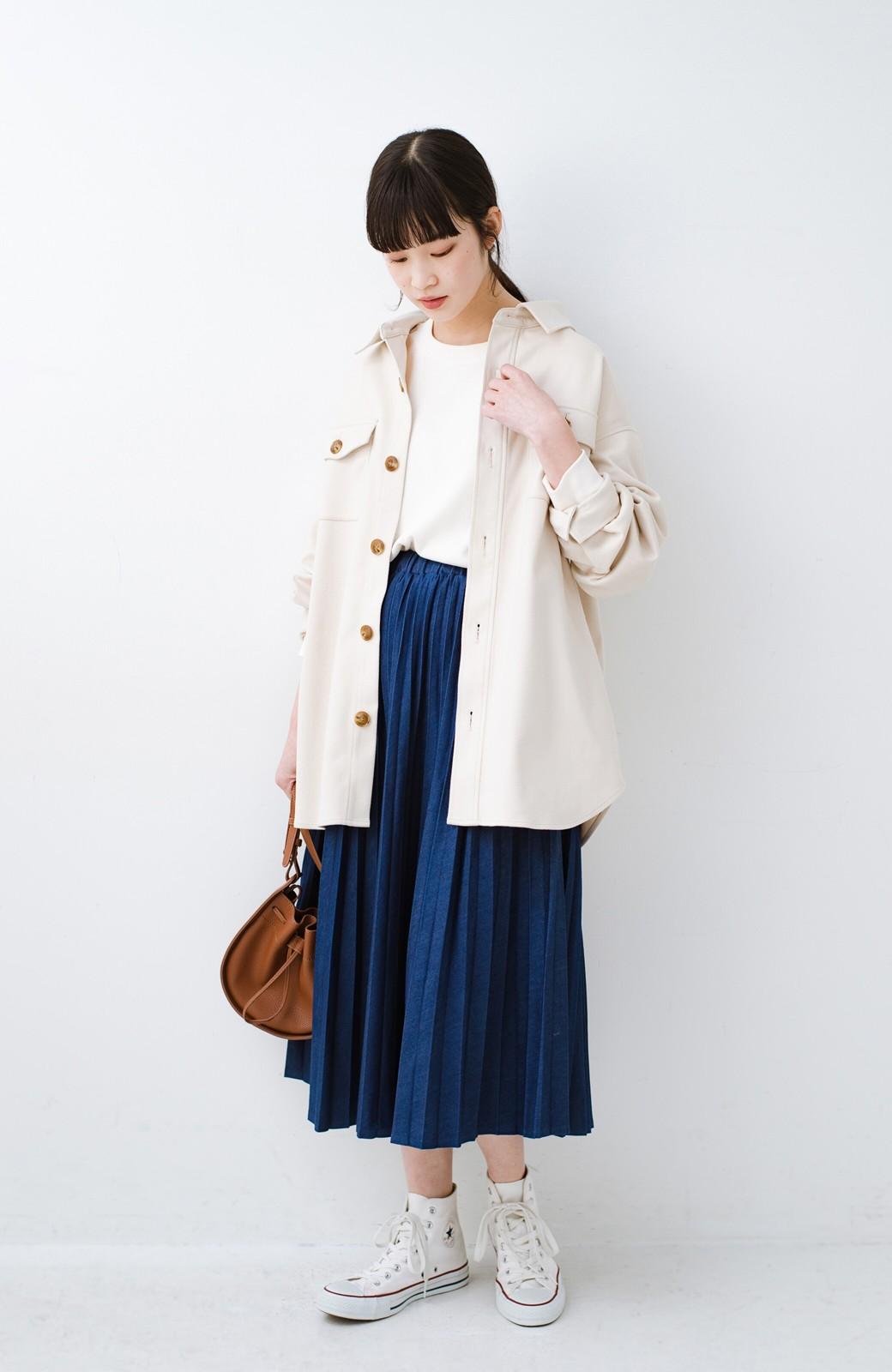 haco! 気軽に羽織って今っぽオシャレに見える ゆるさがかわいいCPOジャケット <アイボリー>の商品写真12