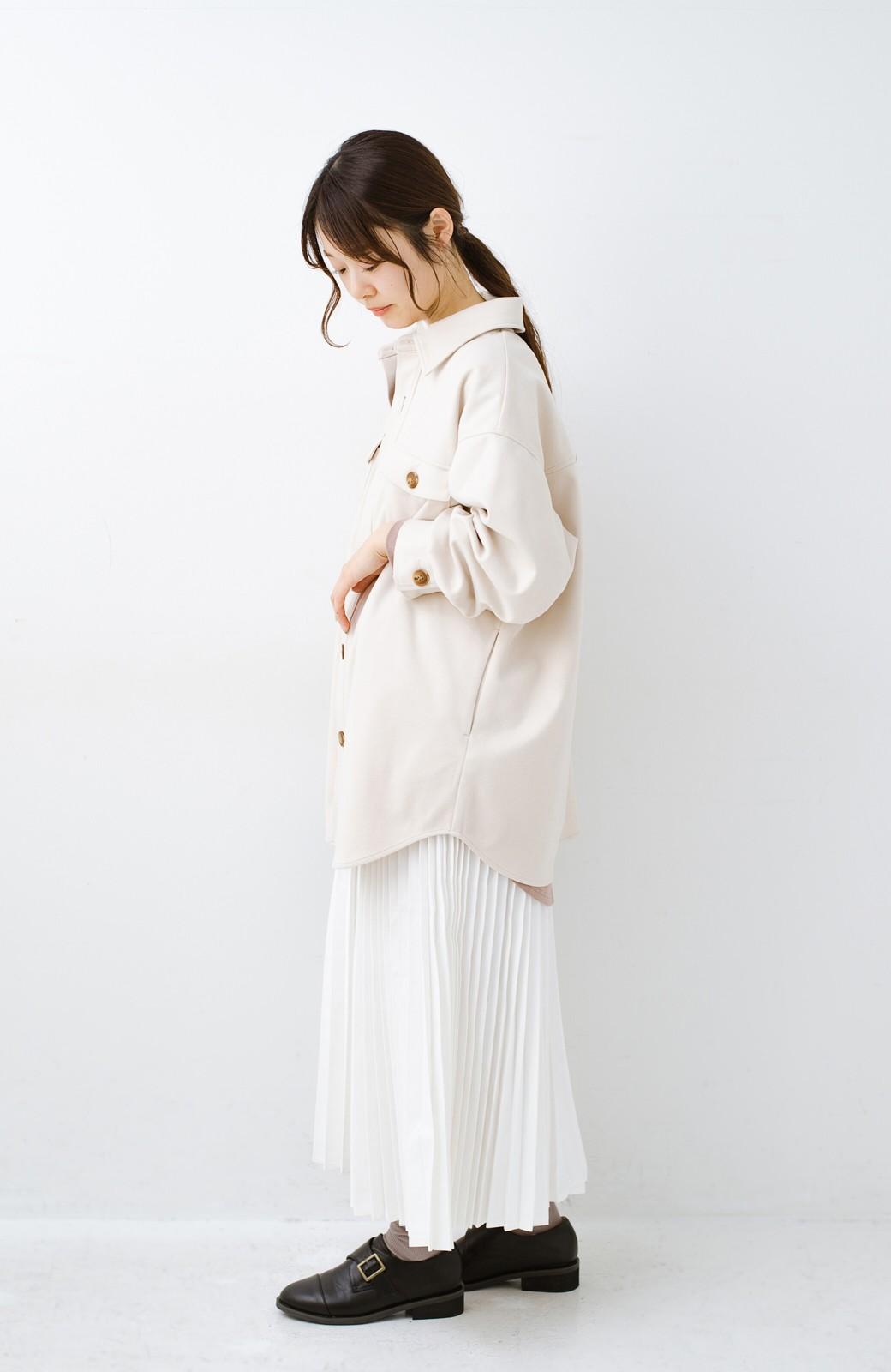 haco! 気軽に羽織って今っぽオシャレに見える ゆるさがかわいいCPOジャケット <アイボリー>の商品写真14