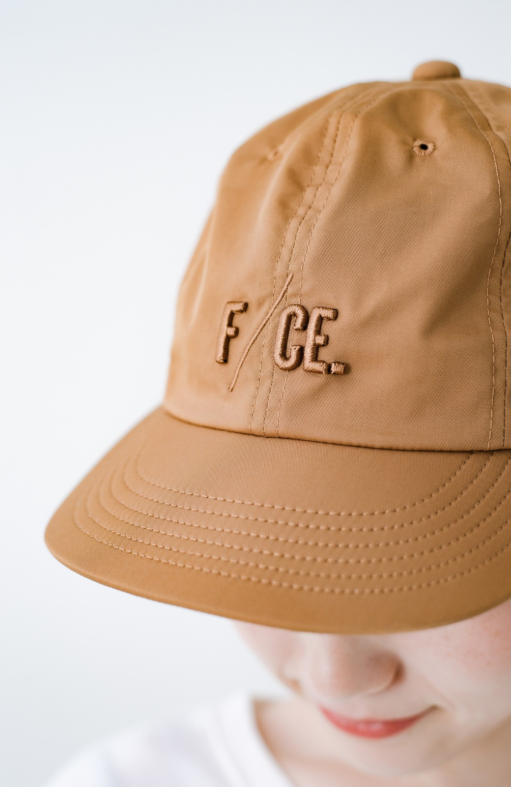haco! F/CE.(エフシーイー) 8 PANEL CAP <ブラウン>の商品写真2