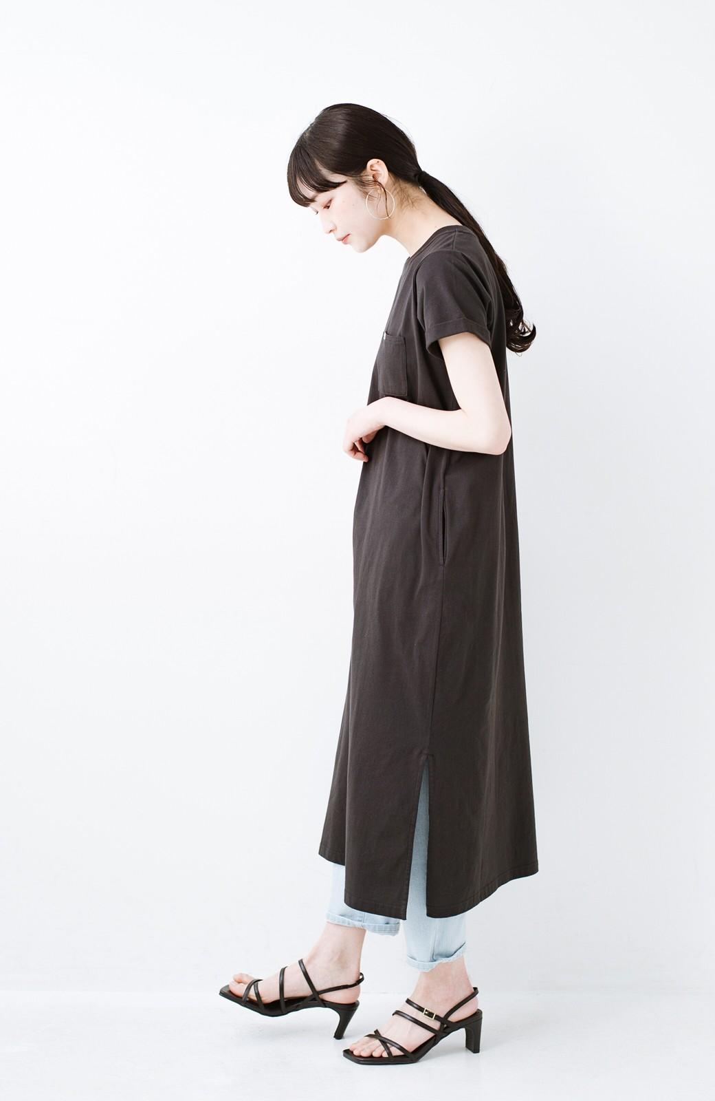 haco! 玄関でこれを履くだけでコーデが女っぽく&今っぽくまとまる 華奢な紐のヒールサンダル <ブラック>の商品写真12