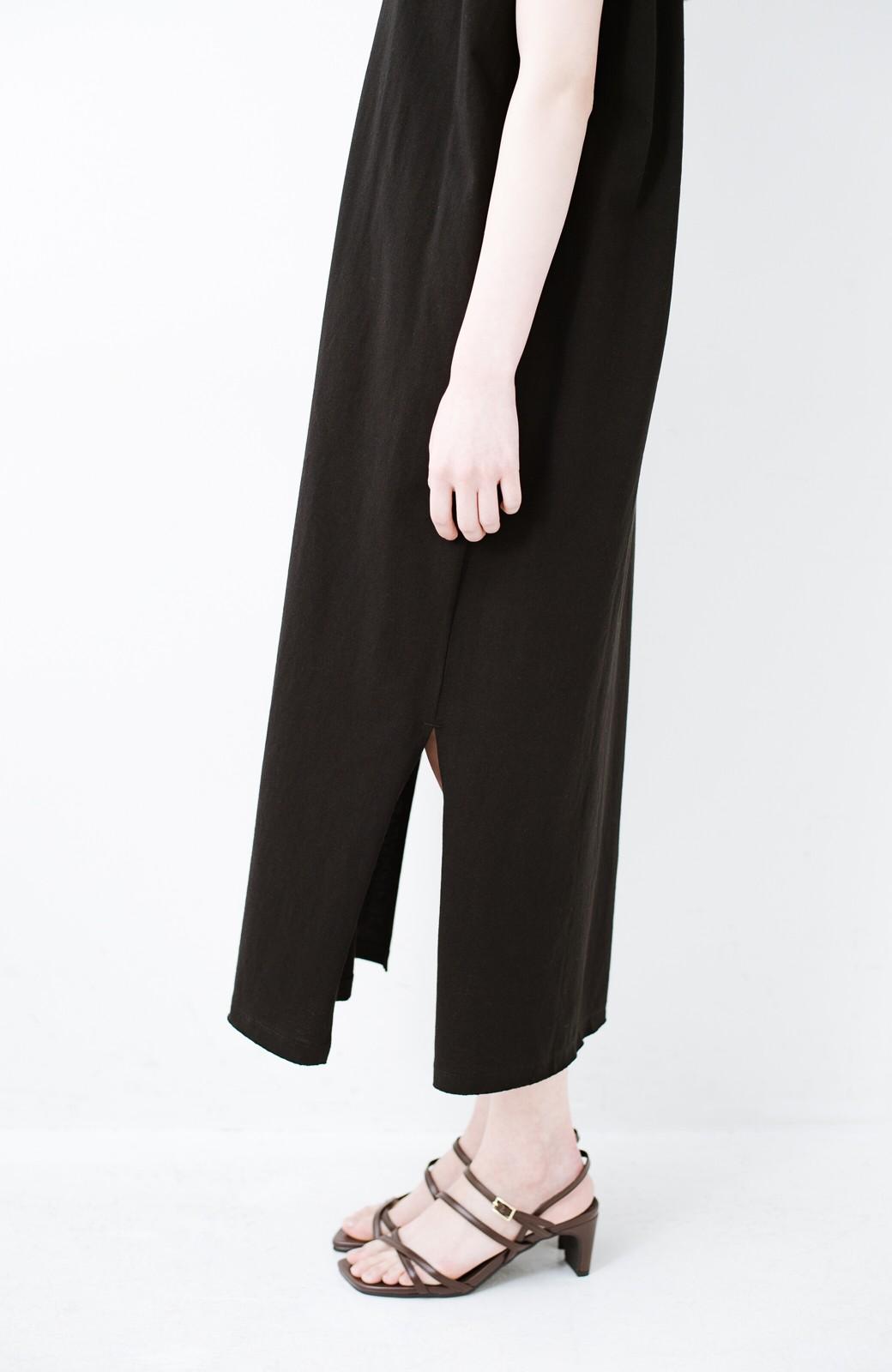 haco! 玄関でこれを履くだけでコーデが女っぽく&今っぽくまとまる 華奢な紐のヒールサンダル <ブラウン>の商品写真6