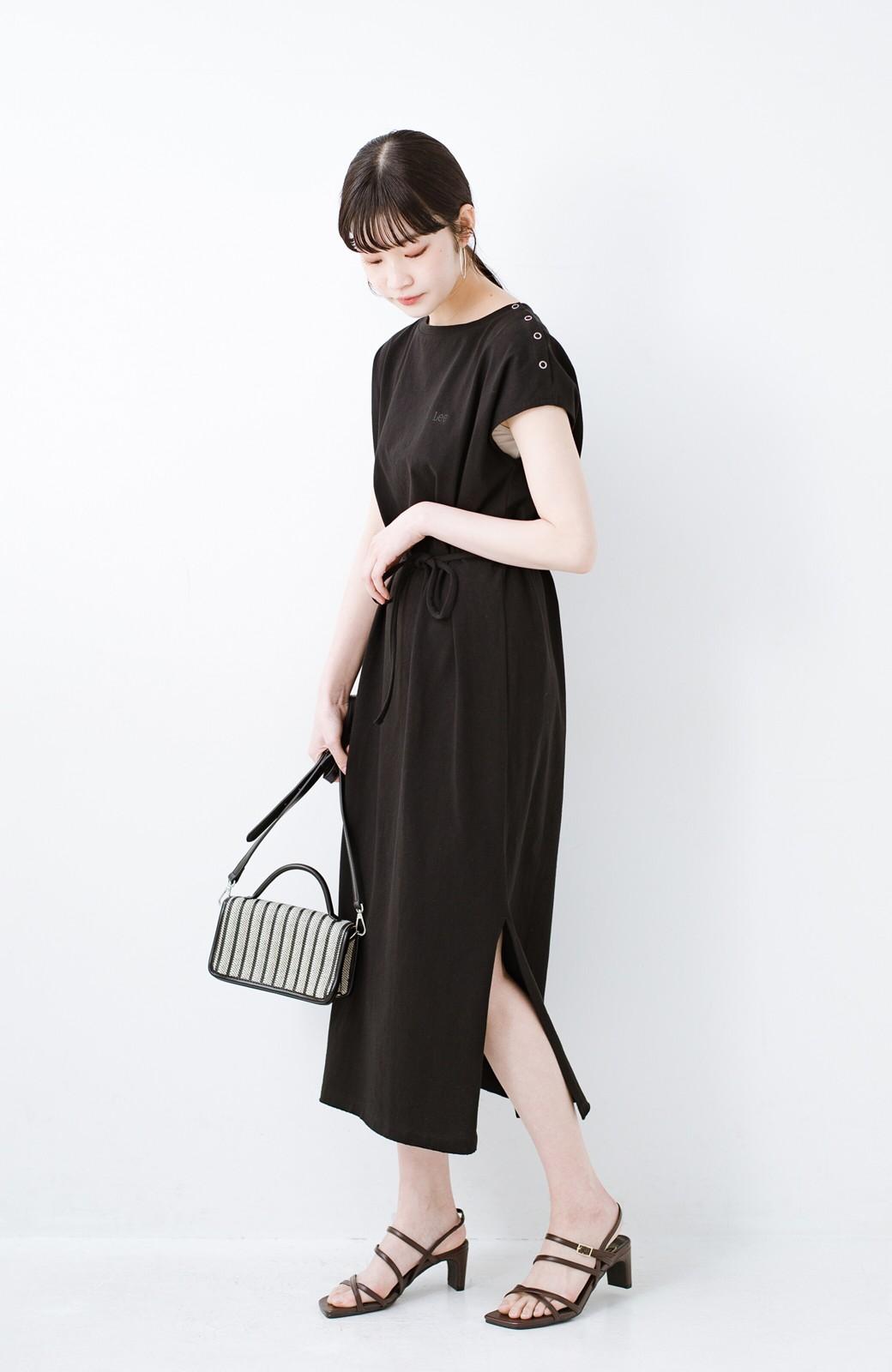 haco! 玄関でこれを履くだけでコーデが女っぽく&今っぽくまとまる 華奢な紐のヒールサンダル <ブラウン>の商品写真12