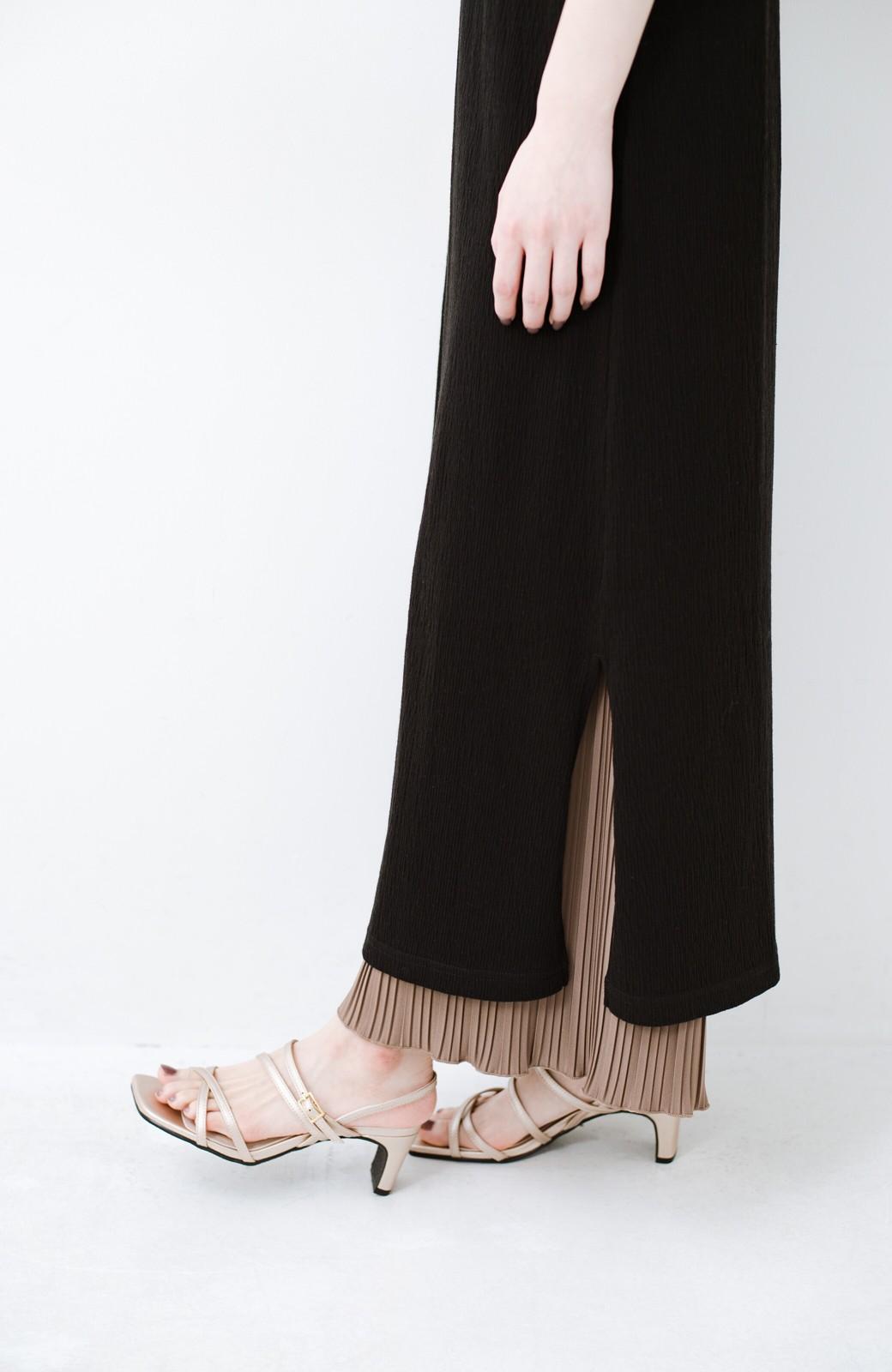 haco! 玄関でこれを履くだけでコーデが女っぽく&今っぽくまとまる 華奢な紐のヒールサンダル <ゴールド>の商品写真4
