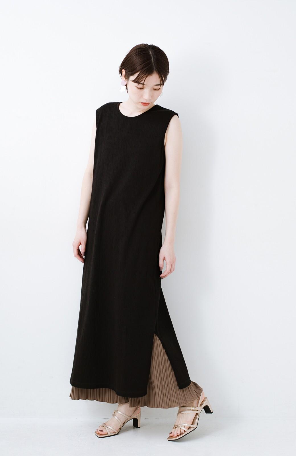 haco! 玄関でこれを履くだけでコーデが女っぽく&今っぽくまとまる 華奢な紐のヒールサンダル <ゴールド>の商品写真8