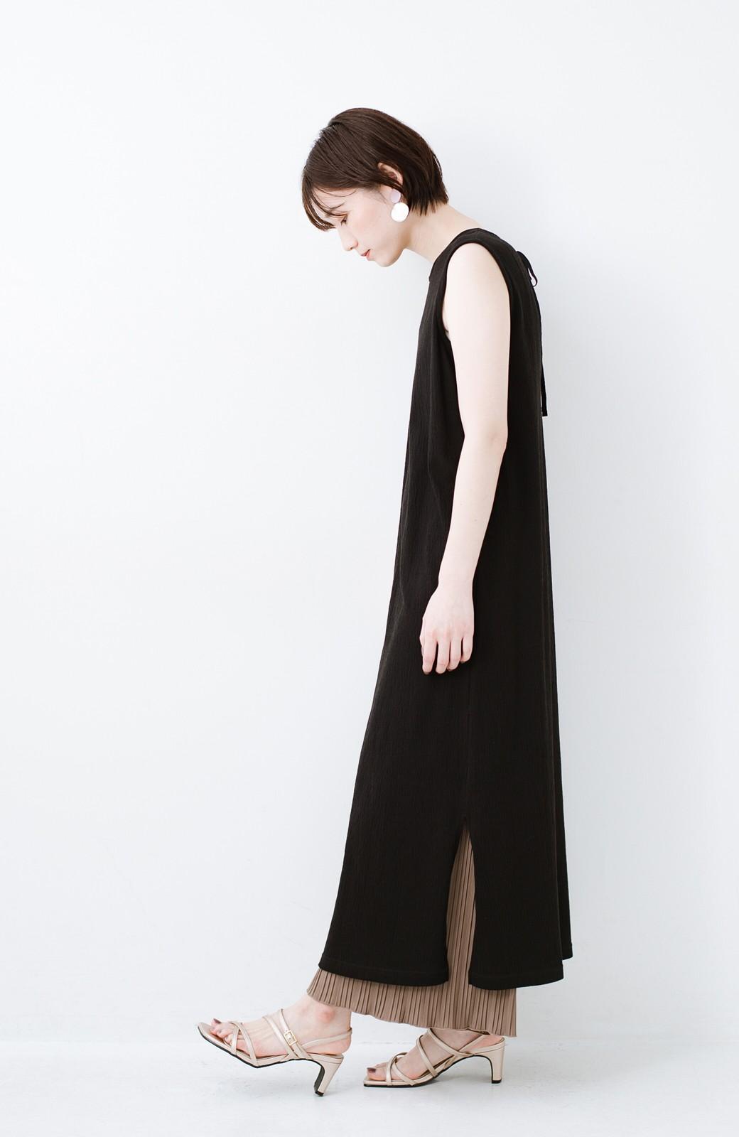 haco! 玄関でこれを履くだけでコーデが女っぽく&今っぽくまとまる 華奢な紐のヒールサンダル <ゴールド>の商品写真9