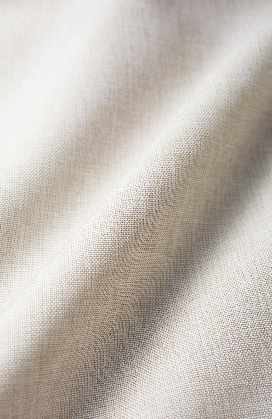 haco! パンツ派だけどきれいでいたい!を叶えてくれる 麻風素材のラップデザインパンツ <ライトベージュ>の商品写真3