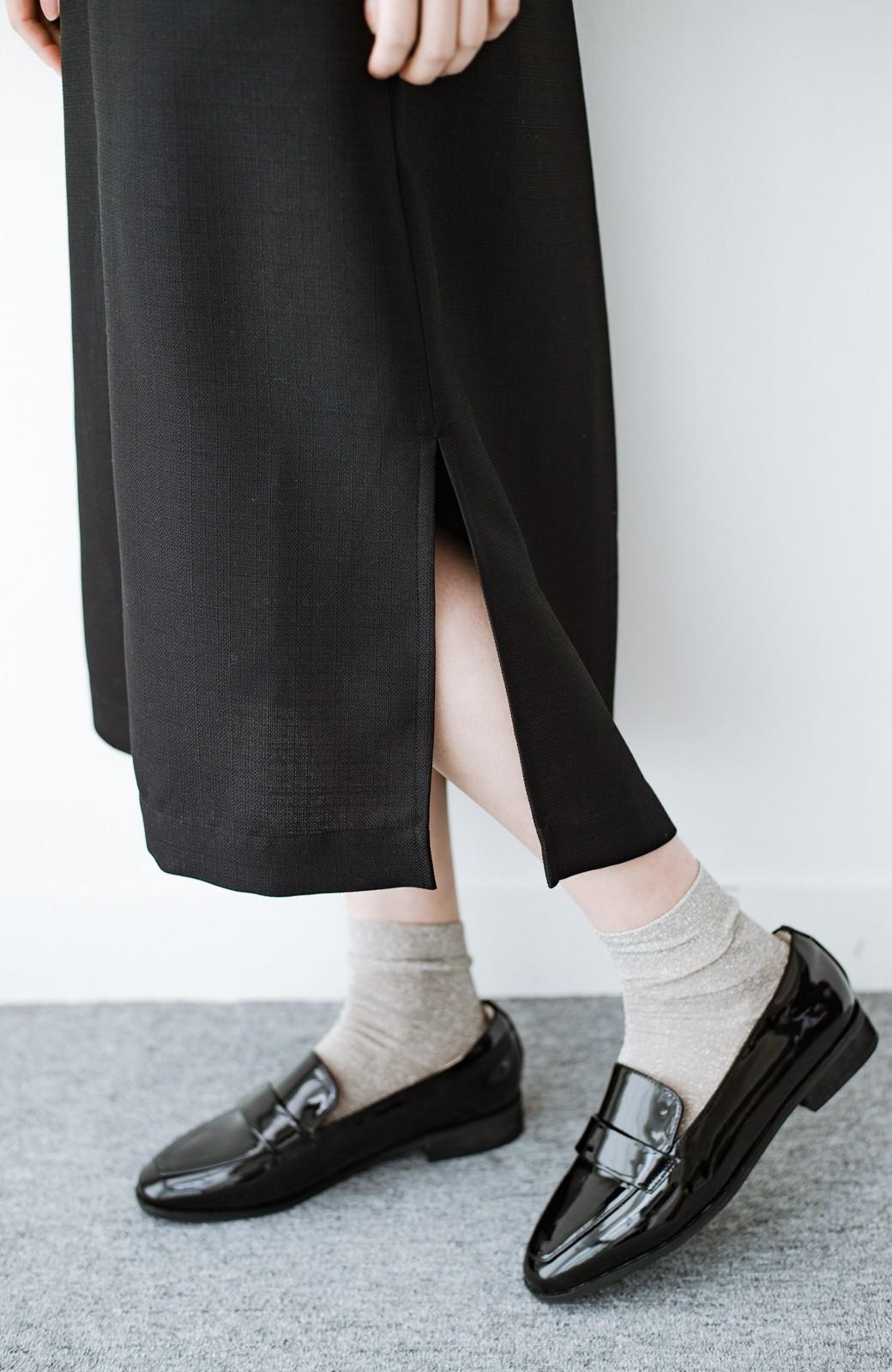 haco! 何てことないTシャツと重ねるだけでパッとかわいくなれる 魔法のようなジャンパースカート <ブラック>の商品写真7
