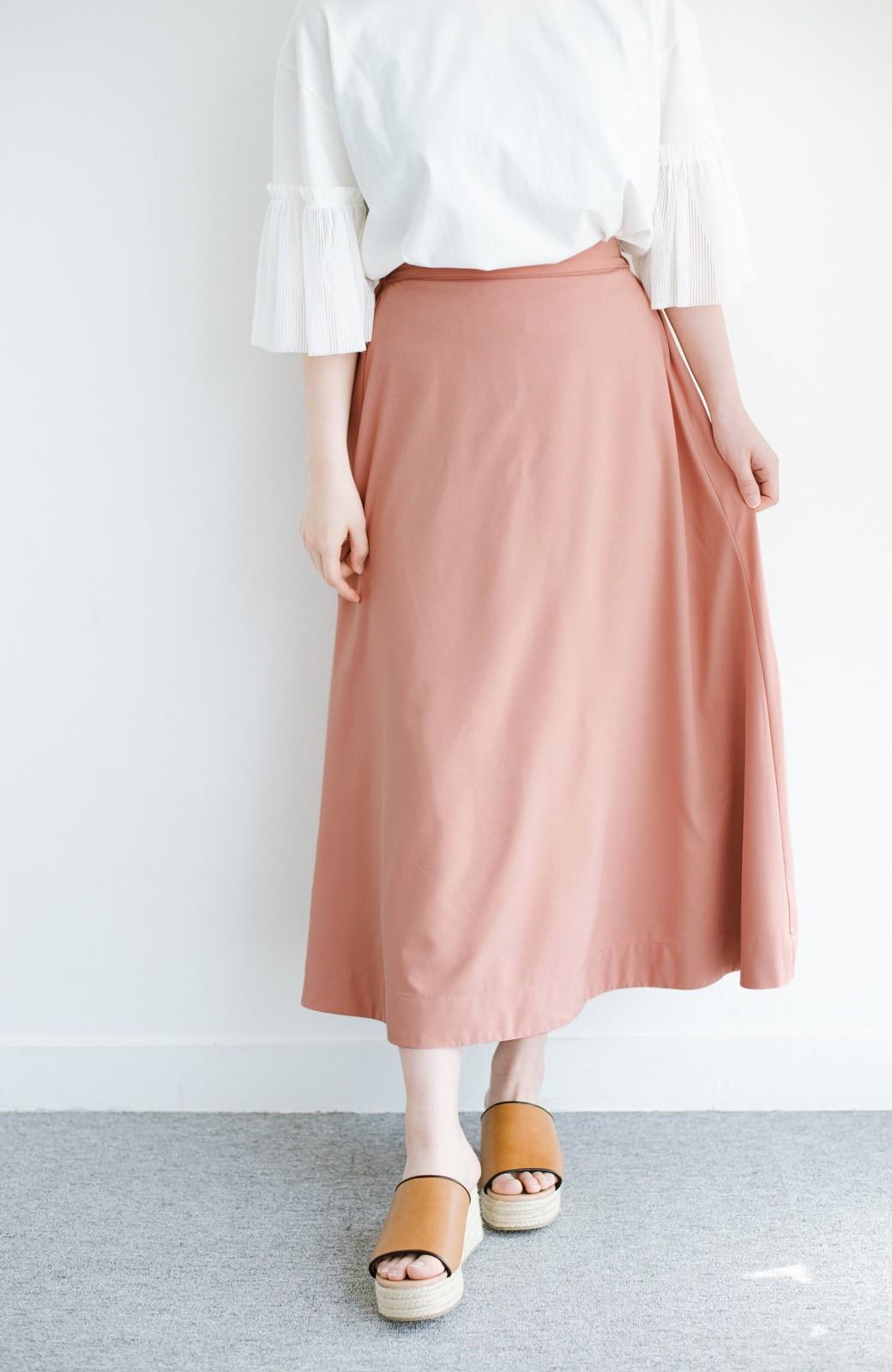 haco! オフィスにもデートにも! 便利なのはきれいに見えて楽ちんなリバーシブルスカート <ピンク系その他>の商品写真7