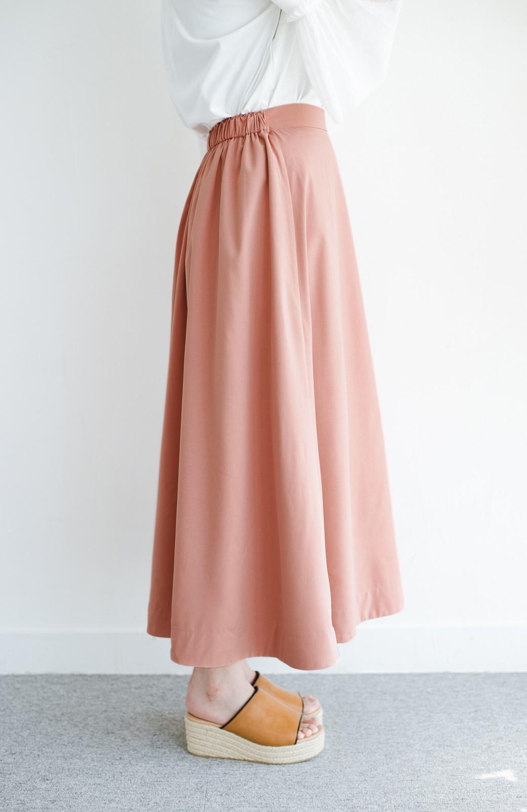haco! オフィスにもデートにも! 便利なのはきれいに見えて楽ちんなリバーシブルスカート <ピンク系その他>の商品写真8