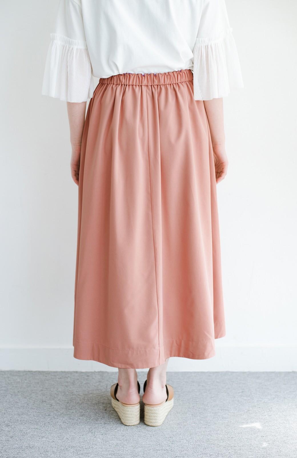 haco! オフィスにもデートにも! 便利なのはきれいに見えて楽ちんなリバーシブルスカート <ピンク系その他>の商品写真11