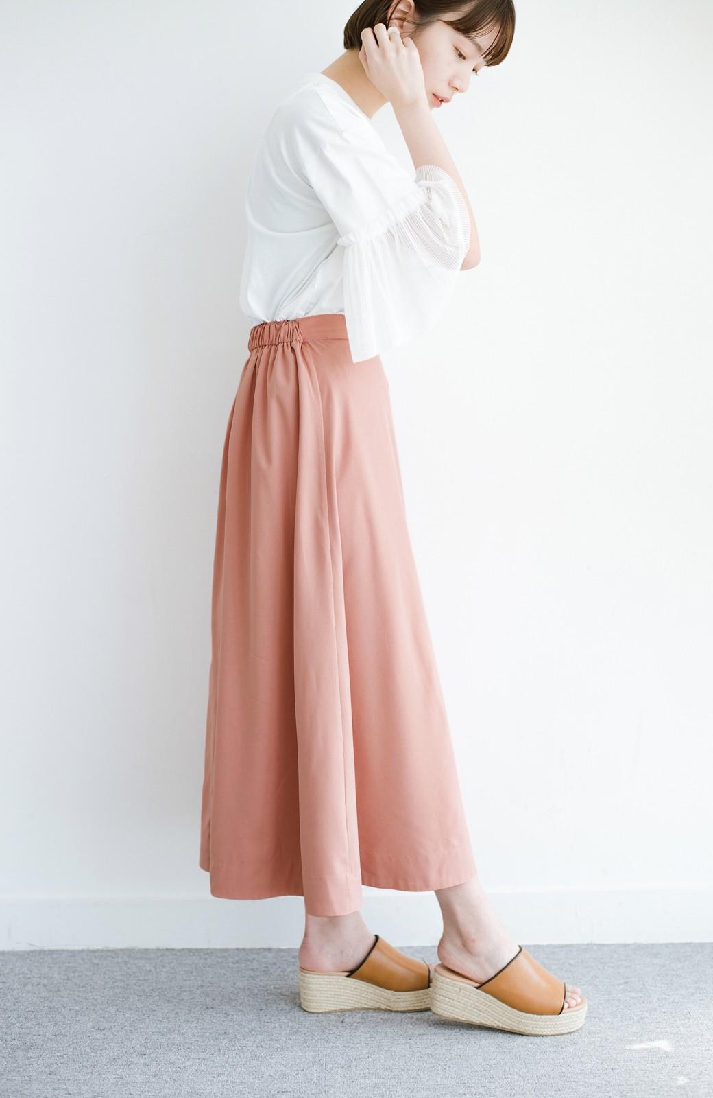 haco! オフィスにもデートにも! 便利なのはきれいに見えて楽ちんなリバーシブルスカート <ピンク系その他>の商品写真22