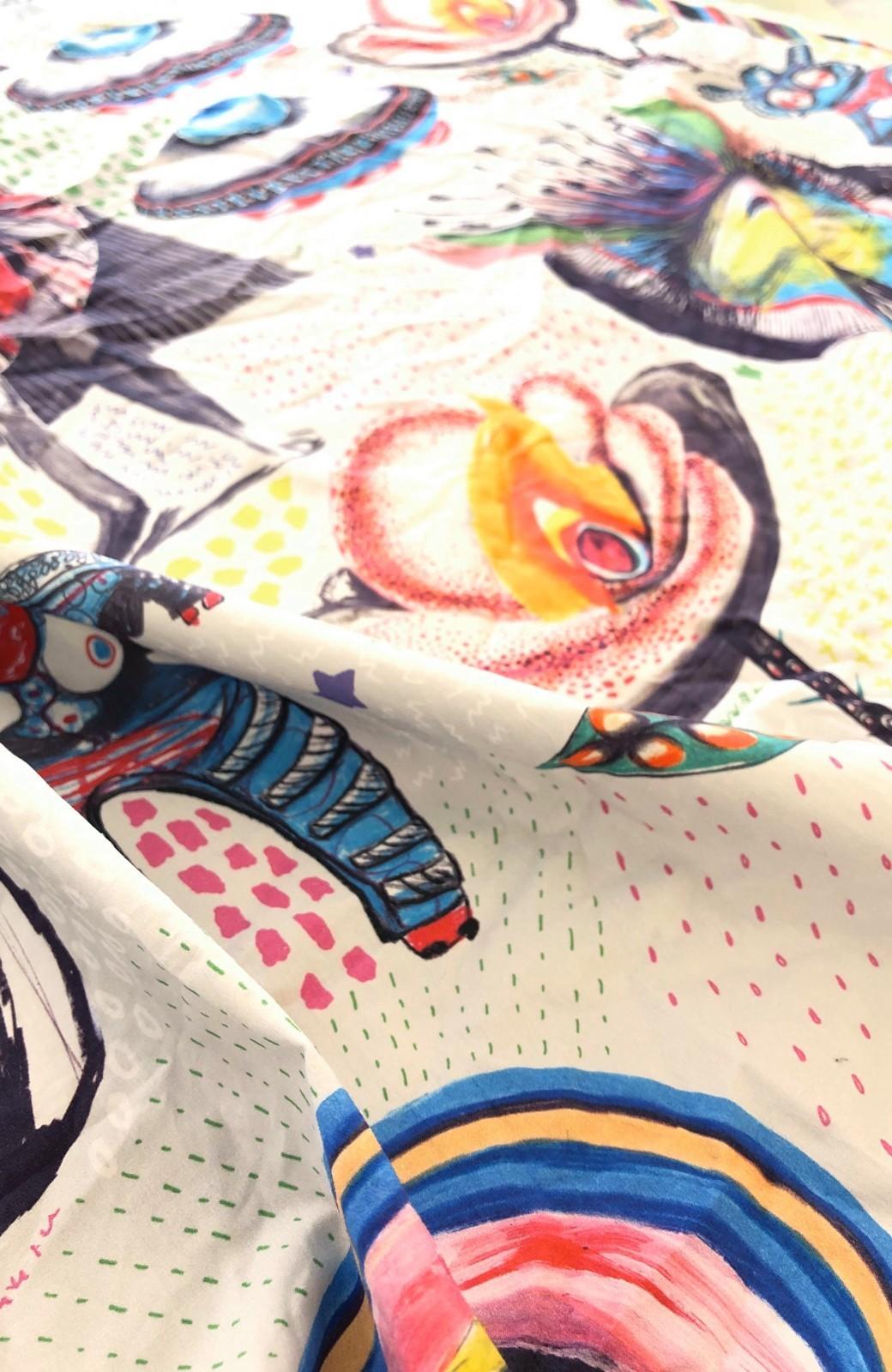 haco! [haco! POST]マスクだって服が着たい!RBTXCOさんのテキスタイルでマスクが華やぐ マスクのお洋服型紙と布セット <その他>の商品写真4
