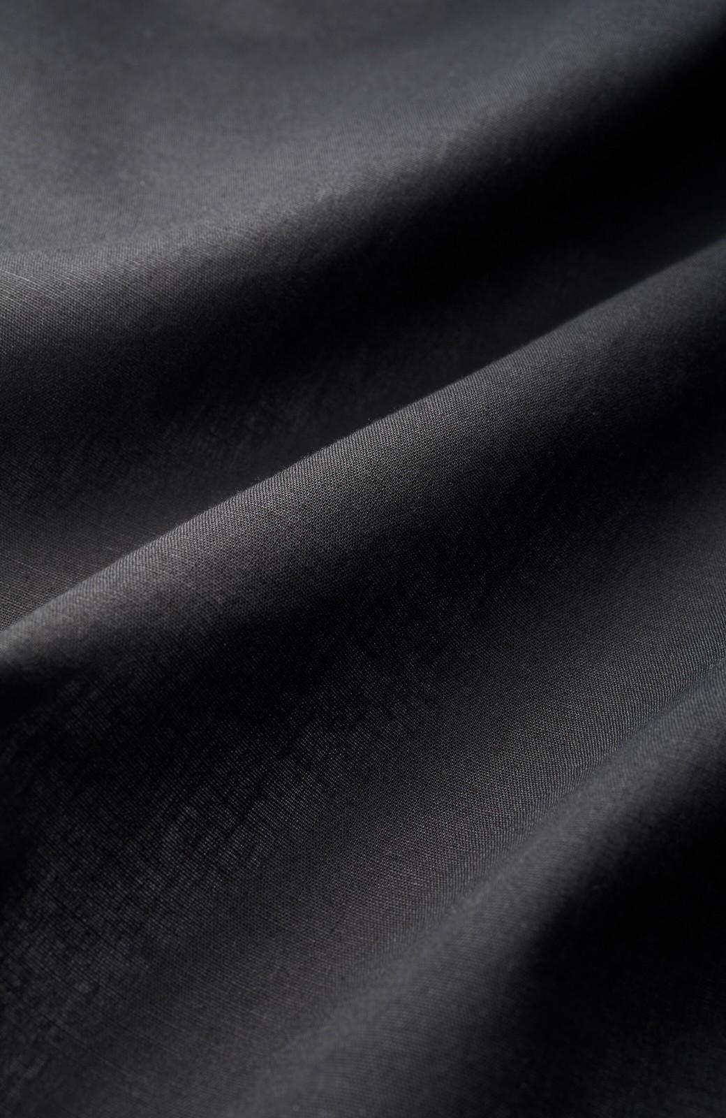 haco! ちょっとだけきちんとしたいときに便利な綿麻素材のセットアップ by que made me <ブラック>の商品写真3