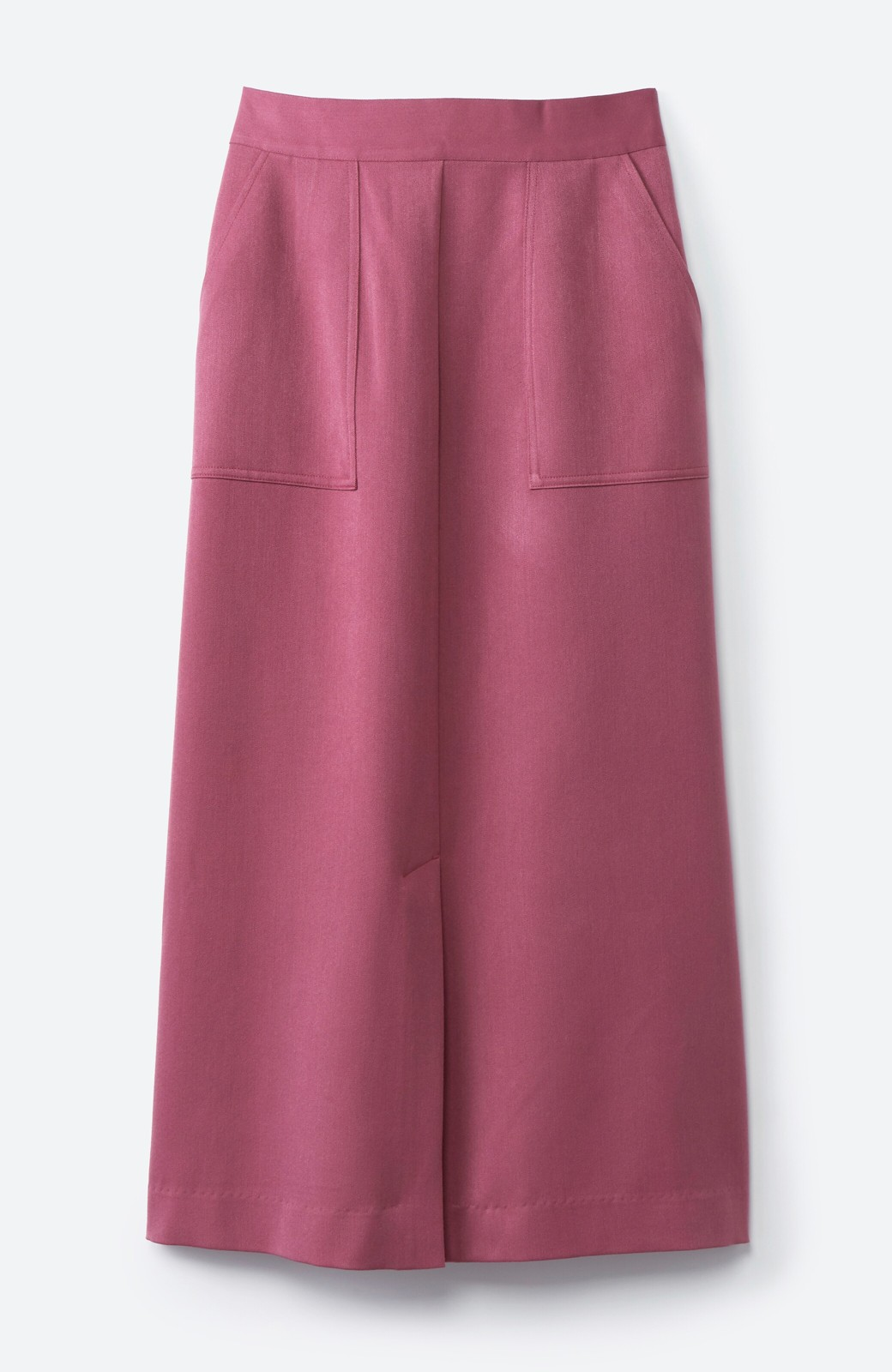 haco! カジュアルにもきれいめにも着られて便利 スリットが女っぽいセミタイトスカート <ピンク>の商品写真14