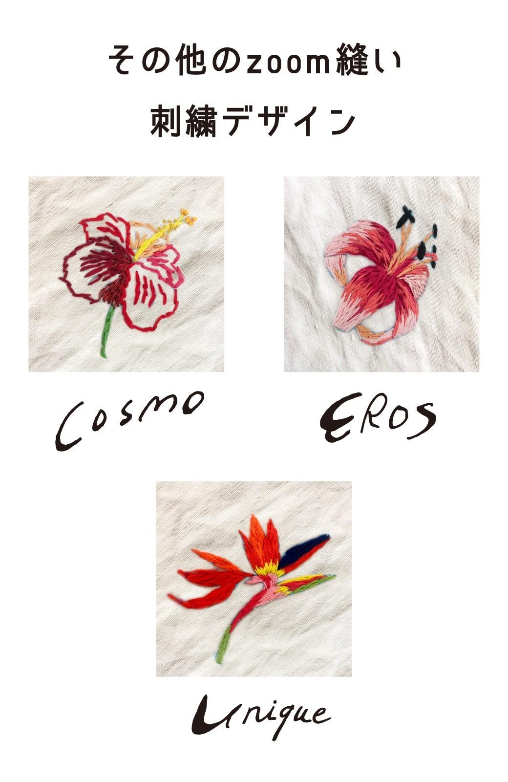 haco! haco! [haco! POST] 刺繍アーティスト二宮佐和子さんとみんなでワイワイ刺繍!zoom縫いワークショップ参加チケット 6/21・6/24開催<micro macro> <その他>の商品写真8