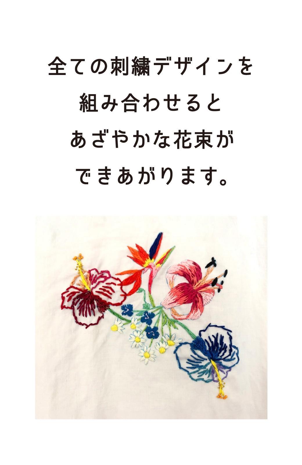 haco! haco! [haco! POST] 刺繍アーティスト二宮佐和子さんとみんなでワイワイ刺繍!zoom縫いワークショップ参加チケット 6/21・6/24開催<micro macro> <その他>の商品写真9