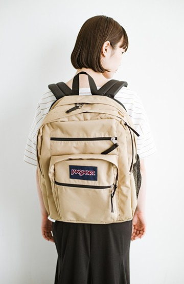 haco! JANSPORT BIG STUDENT <ベージュ>の商品写真