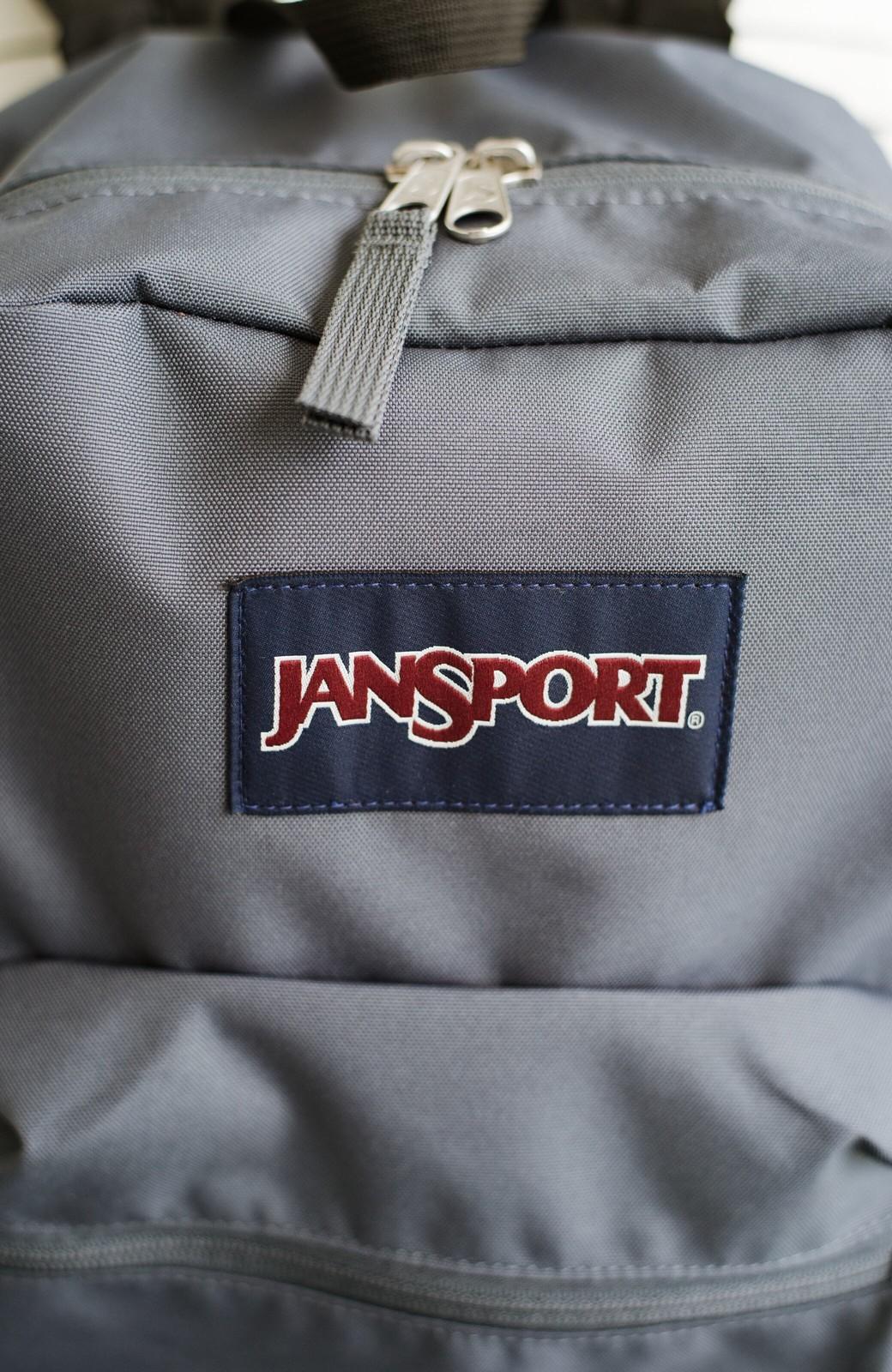 haco! JANSPORT CROSS TOWN <グレー>の商品写真2