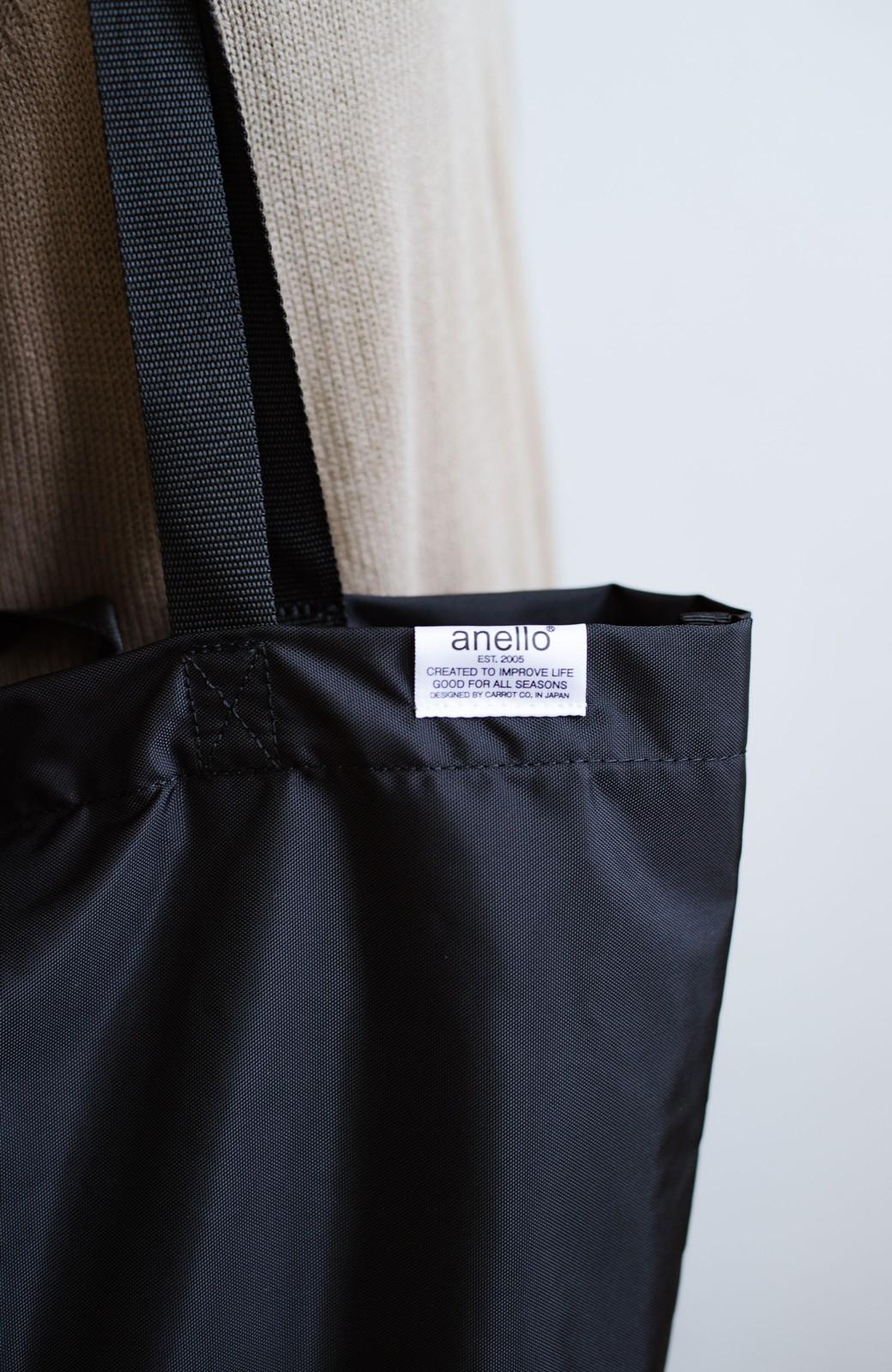 haco! anello® たためて便利な2WAYトートバッグ <ブラック>の商品写真5