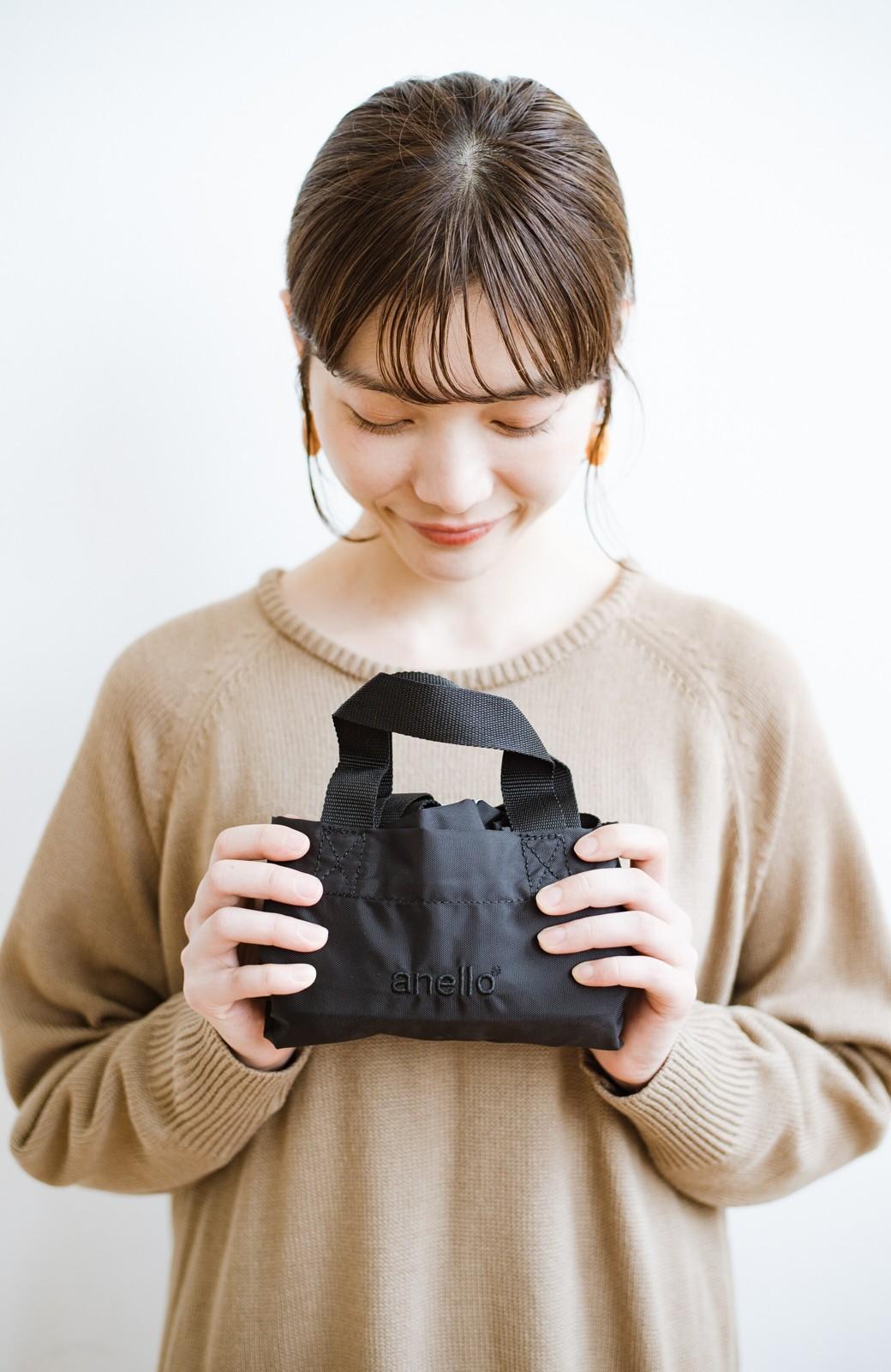 haco! anello® たためて便利な2WAYトートバッグ <ブラック>の商品写真2