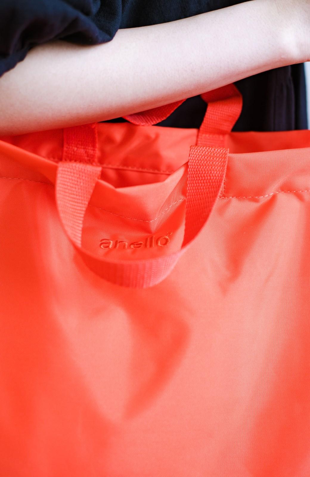 haco! anello® たためて便利な2WAYトートバッグ <オレンジ>の商品写真8