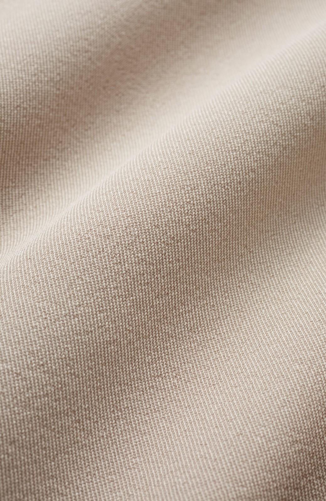 haco! いざというとき困らないための 大人のフォーマル裏地付きジャケット・スカート2点セット by que made me <ベージュ>の商品写真2