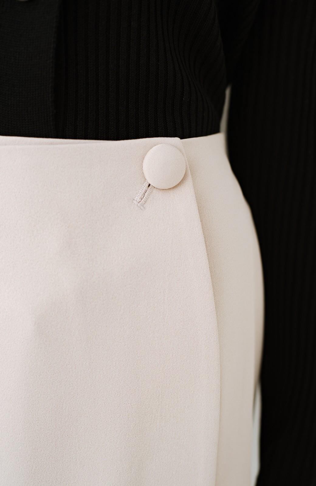 haco! いざというとき困らないための 大人のフォーマル裏地付きジャケット・スカート2点セット by que made me <ベージュ>の商品写真24