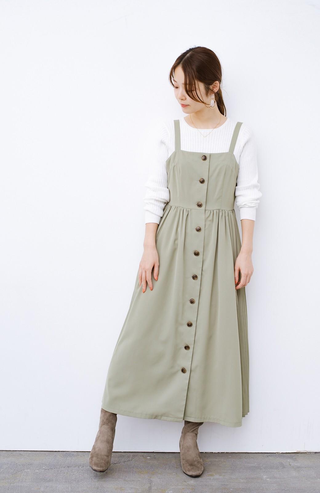 haco! デニムにもスカートにも似合う!すぽっと履けてスタイルアップが叶う女っぽフェイクスエードブーツ <ブラウン>の商品写真9