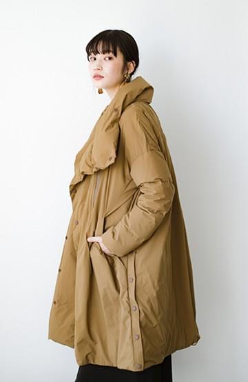 haco! F/CE.(エフシーイー) ×NANGA FT STAND DOWN COAT <ブラウン>の商品写真