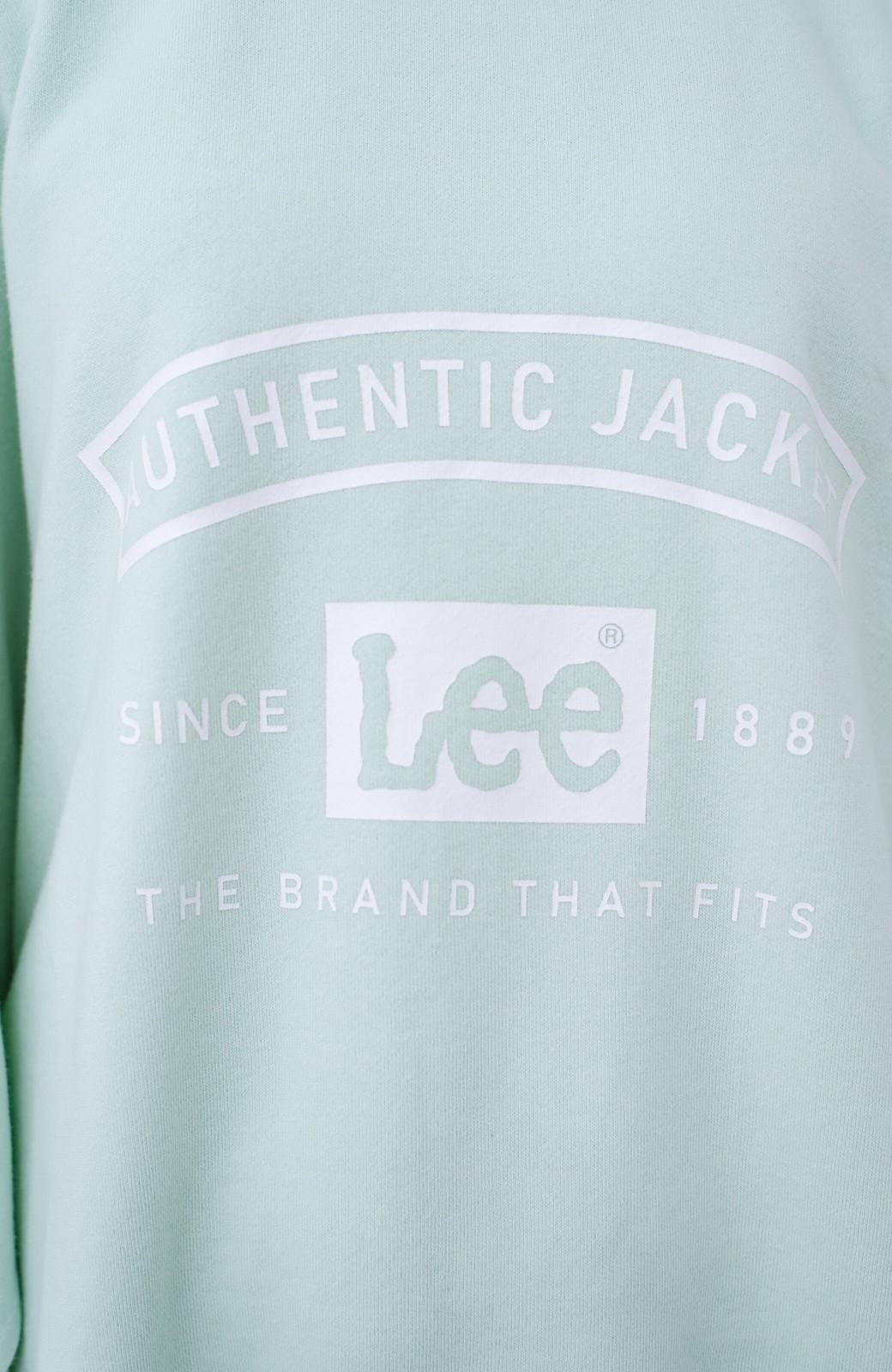 haco! Lady Lee メンズライクなだぼっとサイズ マカロンカラーが可愛いプルオーバー <ミント>の商品写真3