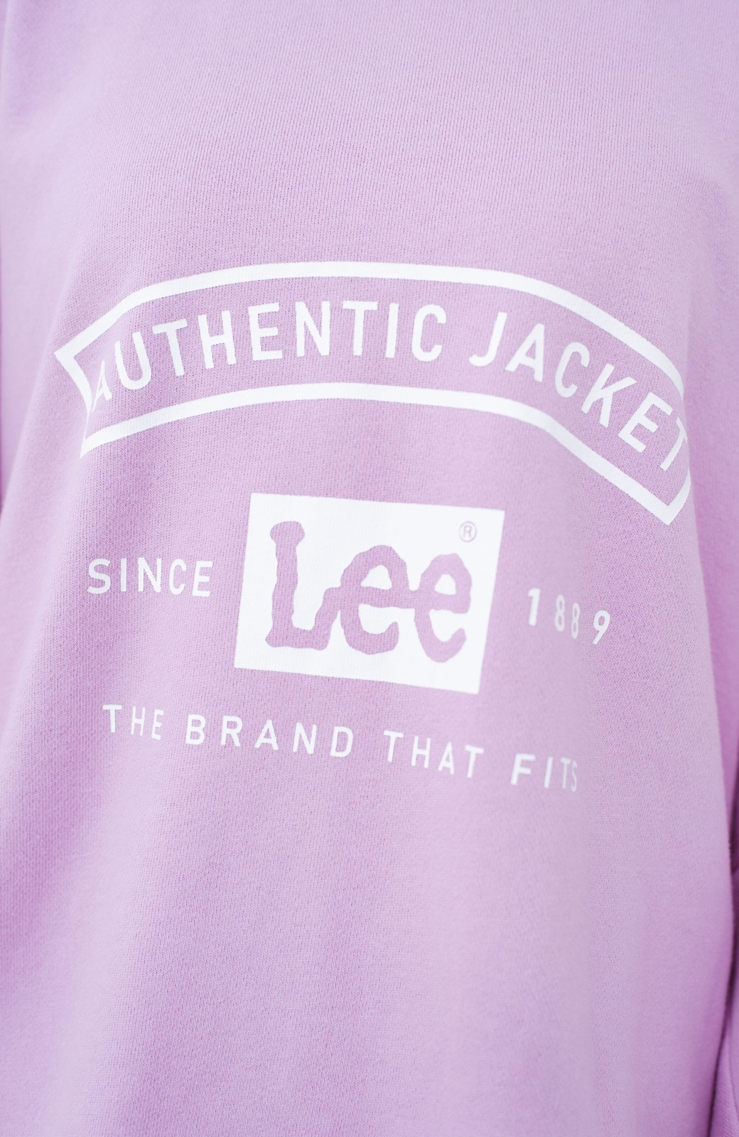 haco! Lady Lee メンズライクなだぼっとサイズ マカロンカラーが可愛いプルオーバー <ラベンダー>の商品写真3