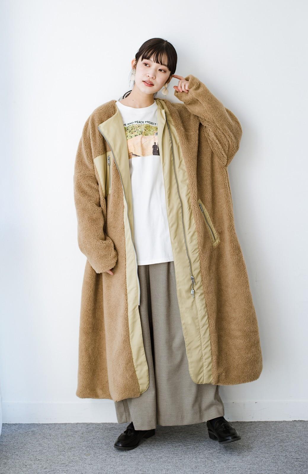 haco! 【高橋愛さんコラボ】フォトプリントのユニセックスロングTシャツ by LOVE&PEACE PROJECT + PBP  <ホワイト>の商品写真25