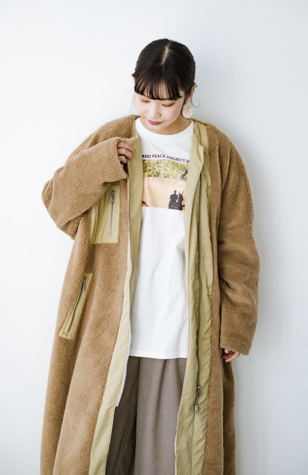 haco! 【高橋愛さんコラボ】フォトプリントのユニセックスロングTシャツ by LOVE&PEACE PROJECT + PBP  <ホワイト>の商品写真30