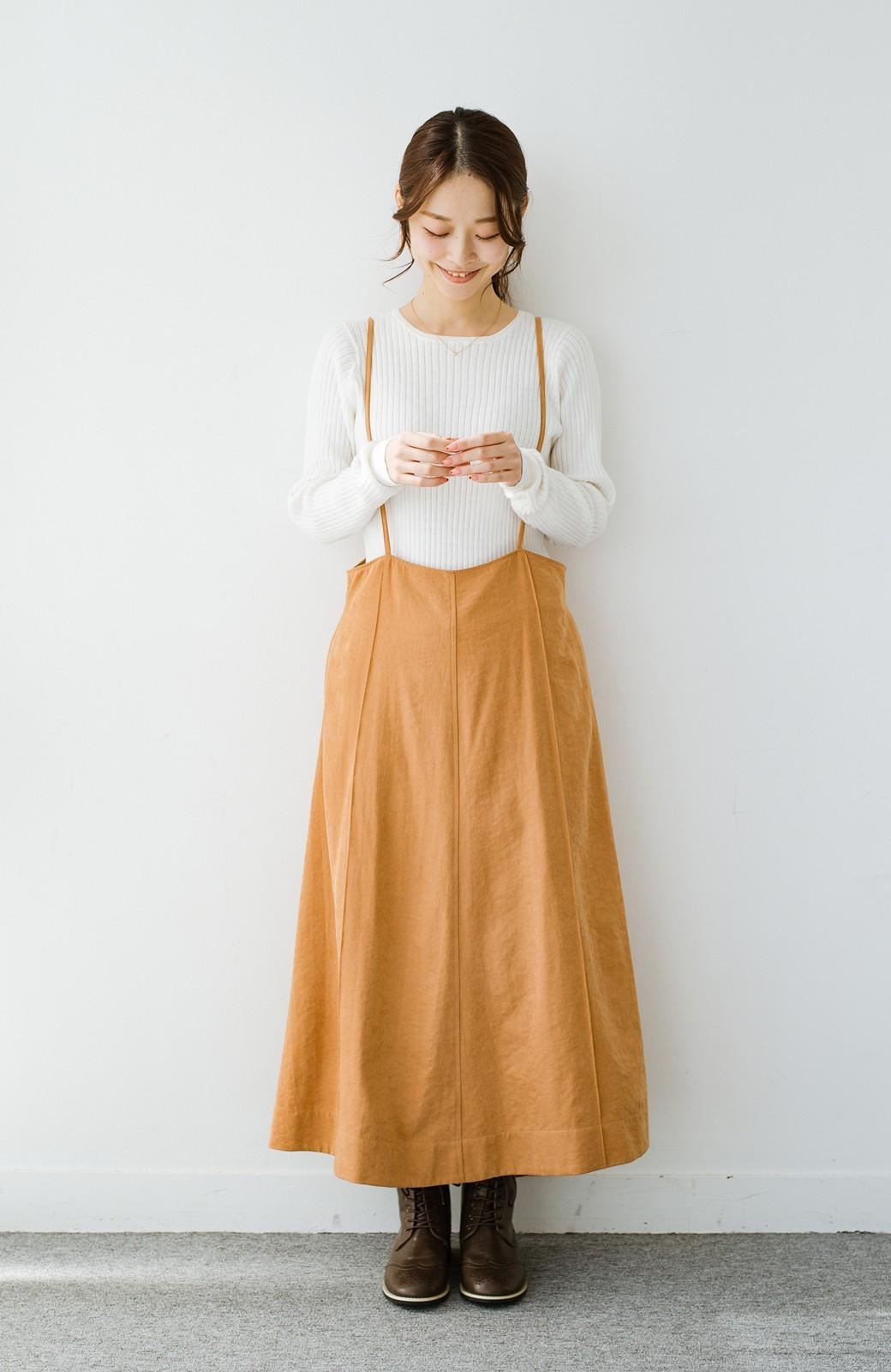 haco! 毎日着たくなる!シンプルなのに女っぽい コットン&カシミヤ混素材の大人リブニットby que made me <ホワイト>の商品写真7