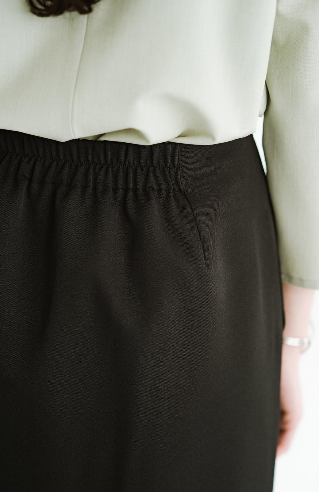 haco! 【シンプル】これさえあればきちんとシーンも怖くない!大人のシンプルジャケット・スカート2点セット <ブラック>の商品写真33