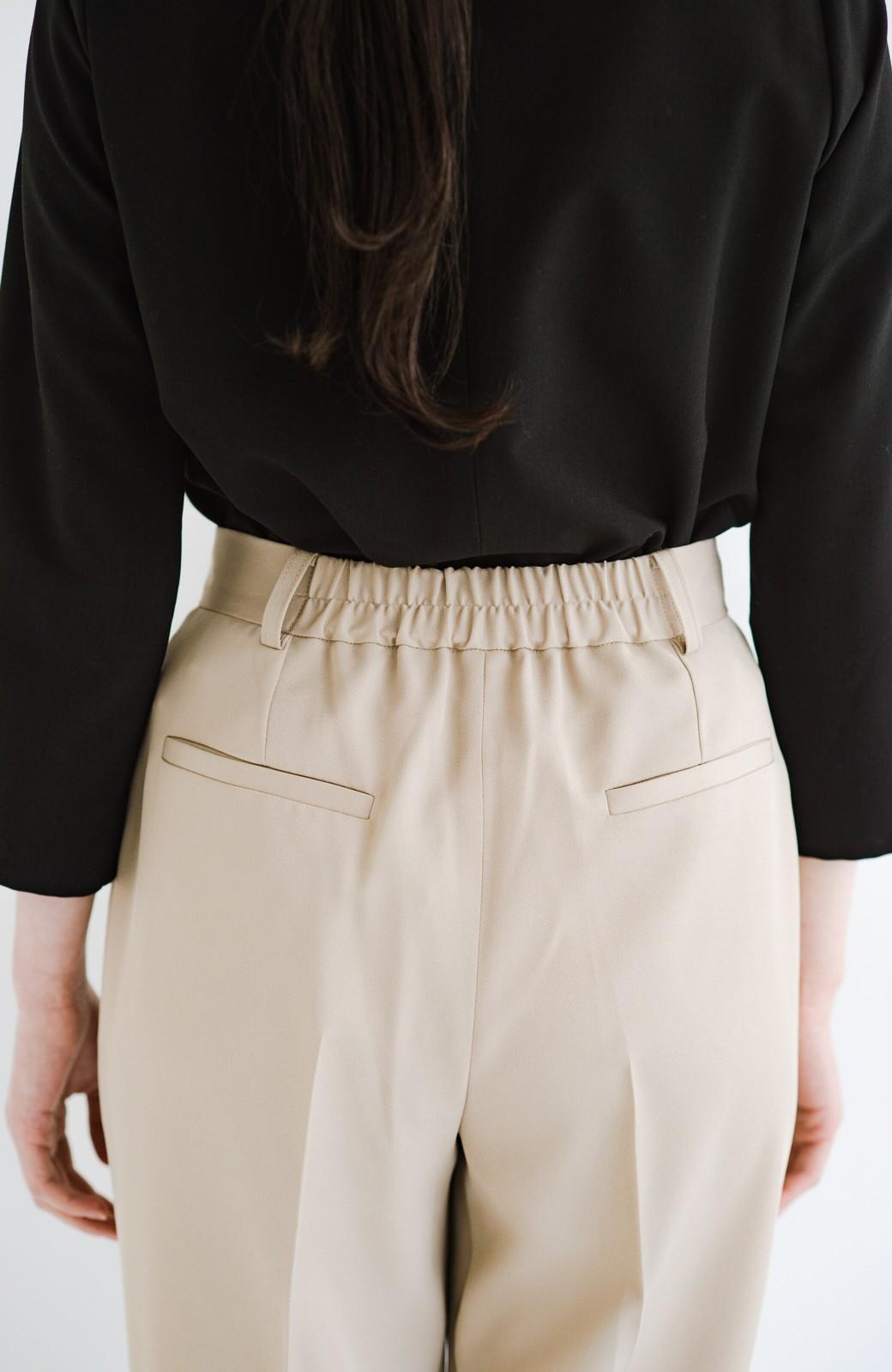 haco! 【シンプル】これさえあればきちんとシーンも怖くない!大人のシンプルジャケット・パンツ・スカート3点セット <ベージュ>の商品写真29