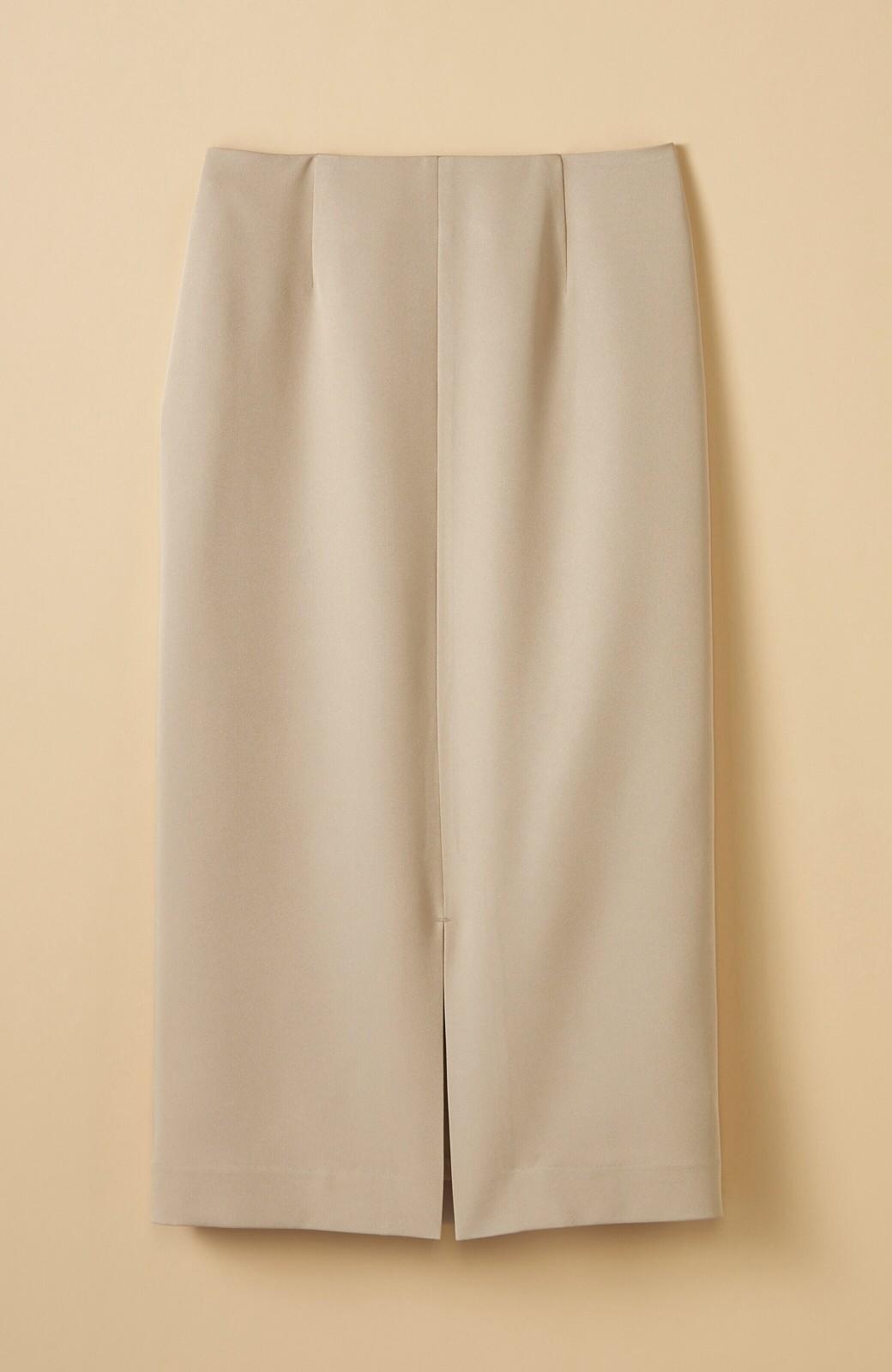 haco! 【シンプル】これさえあればきちんとシーンも怖くない!大人のシンプルジャケット・パンツ・スカート3点セット <ベージュ>の商品写真6