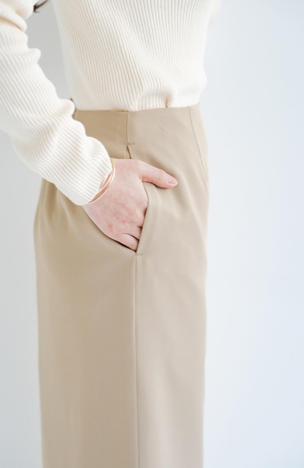 haco! 【華やか】これさえあればきちんとシーンも地味すぎない! 大人の華やかジャケット・パンツ・スカート3点セット <ベージュ>の商品写真43