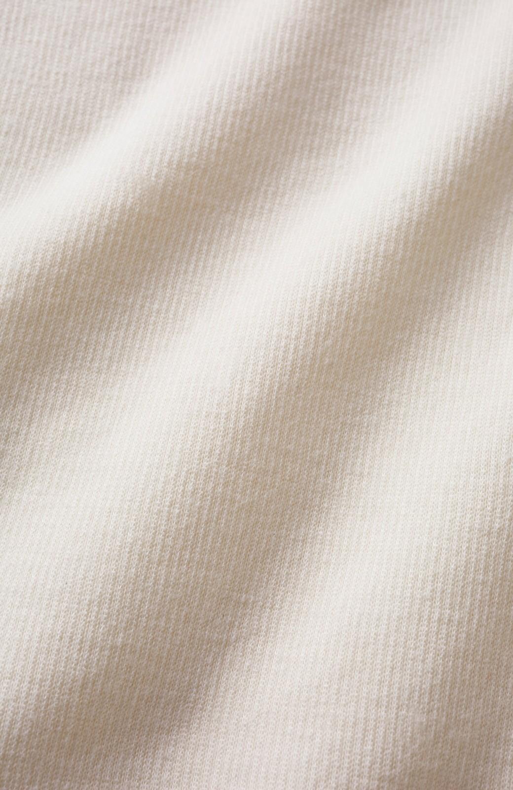 haco! 【洗濯機洗い可】動きやすいうえにかわいげ増しちゃう 甘辛バランスの調整にお役立ちカットソースカート <アイボリー>の商品写真12