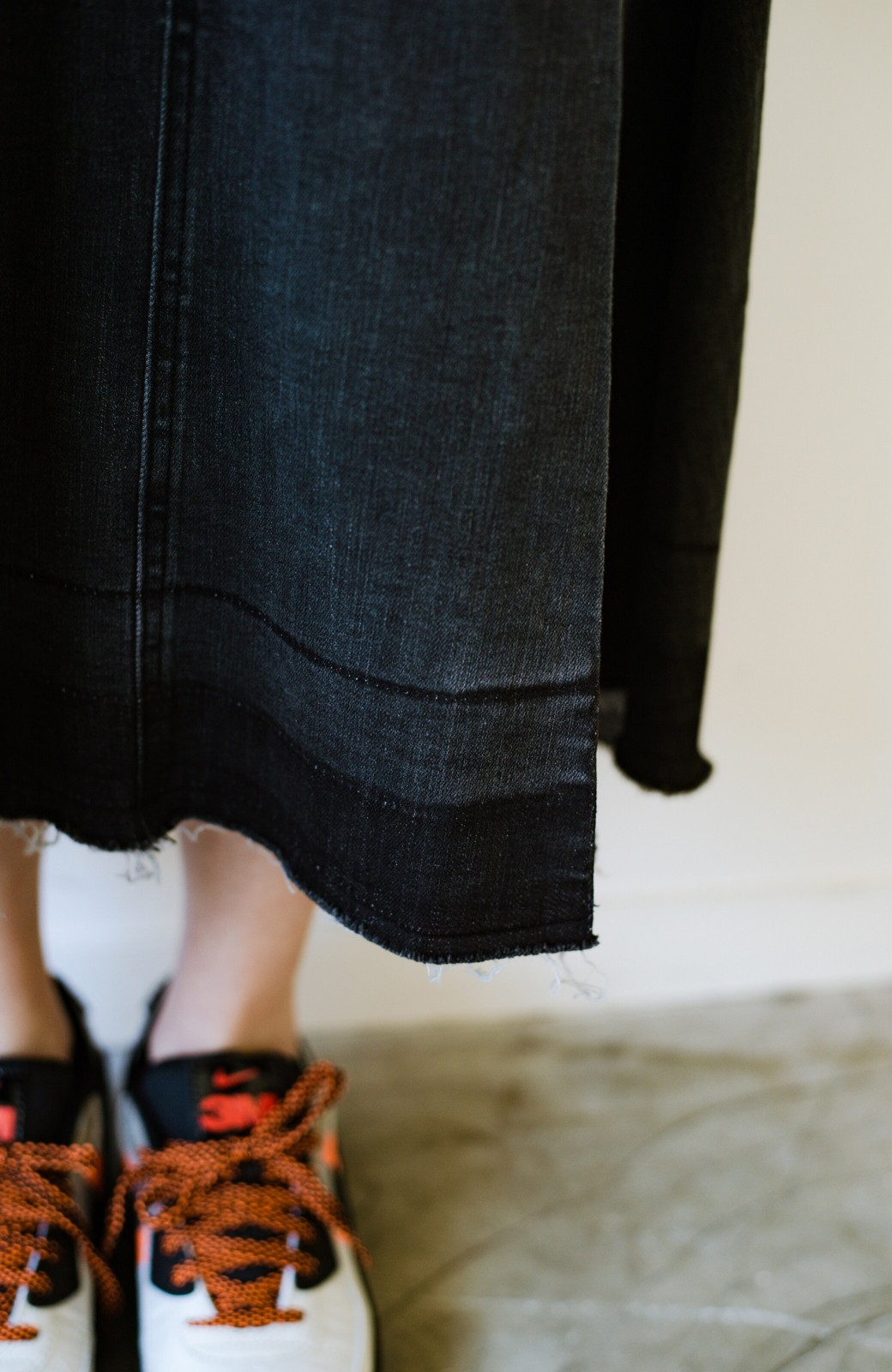 haco! 【新色登場&再入荷!】デニムパネルプリーツスカート <ブラック>の商品写真21