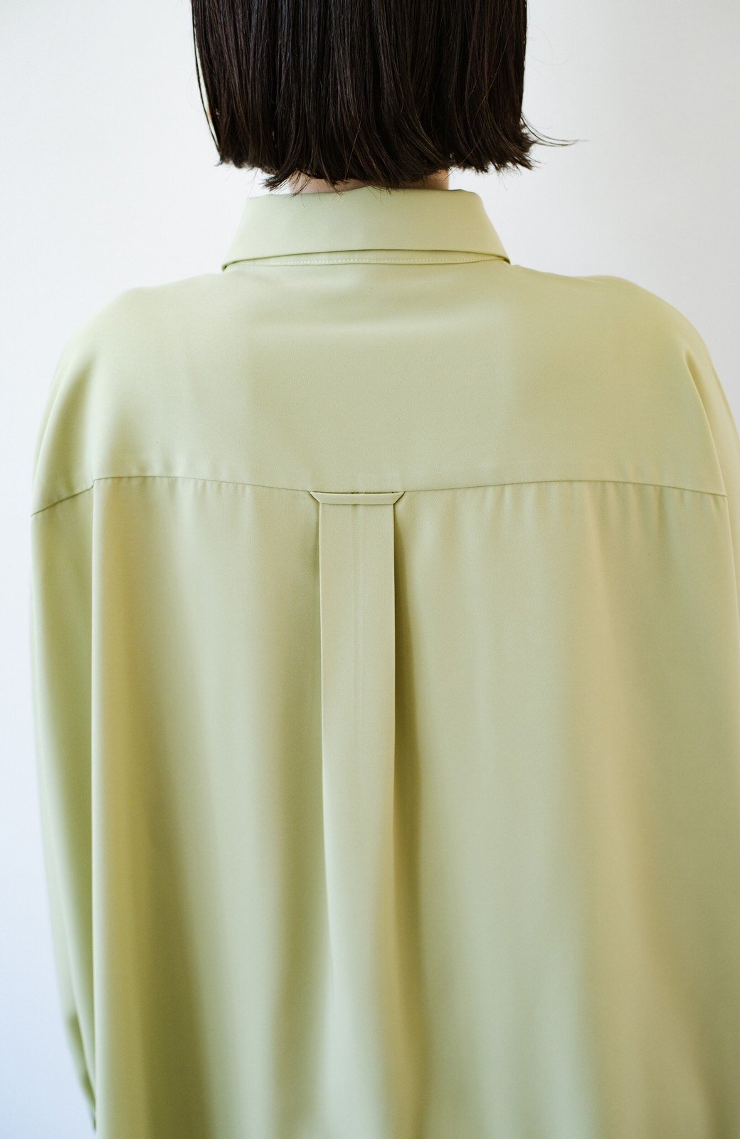 haco! カンタン今っぽ!シワになりにくく羽織りにもなるこなれ見えビッグシャツ <ライトオリーブ>の商品写真12