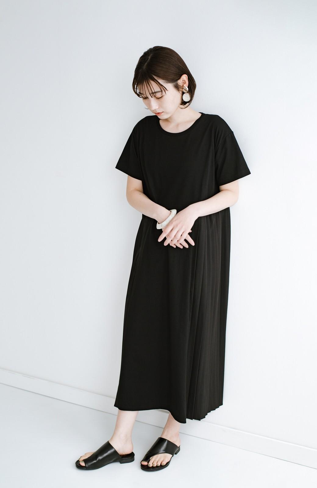 haco! ビーサンとスポサン禁止したらこれ履いとこう、楽して女っぽサンダル by que made me <ブラック>の商品写真12