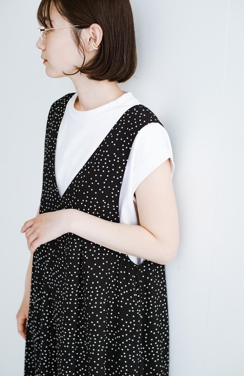 haco! 大人のTシャツこれならいける?!ちょい袖でかっこよく見せるTシャツ by que made me + PBP <ホワイト>の商品写真8