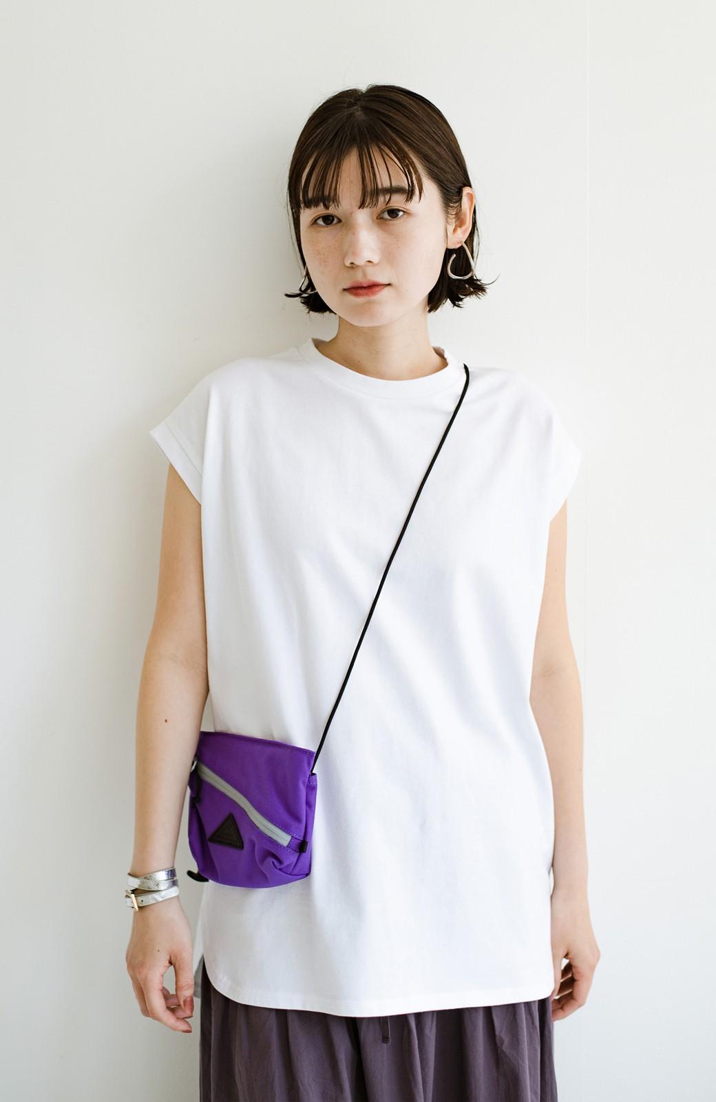 haco! 大人のTシャツこれならいける?!ちょい袖でかっこよく見せるTシャツ by que made me + PBP <ホワイト>の商品写真1