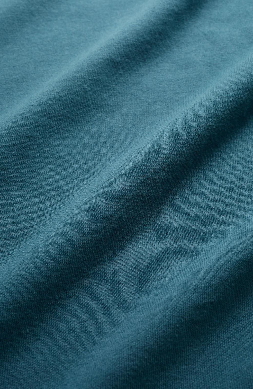 haco! じゃぶじゃぶ洗えて毎日づかいに便利!コーデに迷わず便利なモックネックTシャツ <ブルー>の商品写真3