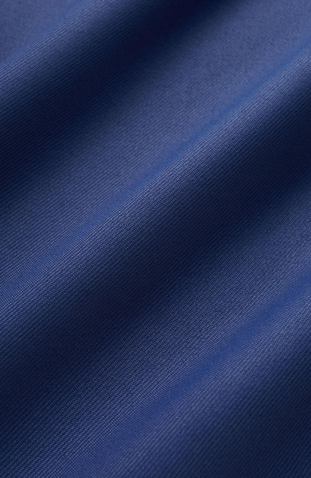 haco! スカート感覚でゆったりはけちゃう お仕事にも便利なきれいめタックワイドパンツ <ネイビー>の商品写真4
