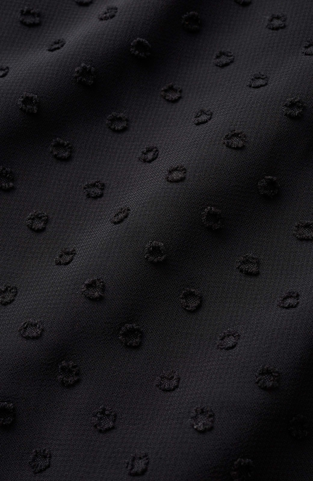 haco! (φ)普段にもちょっとしたきちんとシーンにも!着まわし上手になれるドビードットジャンパースカート <ブラック>の商品写真12