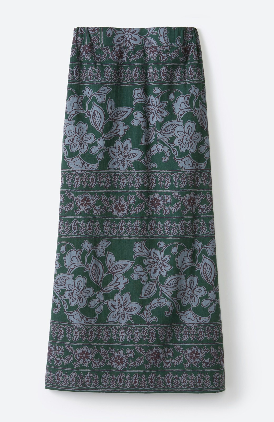 haco! 京都の浴衣屋さんと作った浴衣生地のセミタイトスカート <グリーン系その他>の商品写真20