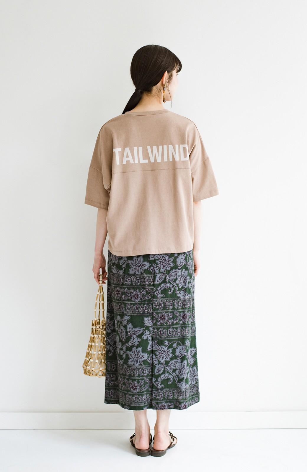 haco! 京都の浴衣屋さんと作った浴衣生地のセミタイトスカート <グリーン系その他>の商品写真18